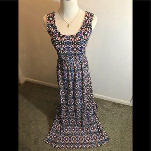 Xhilaration Maxi Cotton Dress, size XS